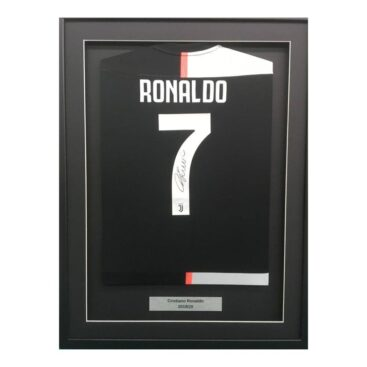 Ronaldo shirt framed