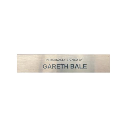 Gareth Bale plaque