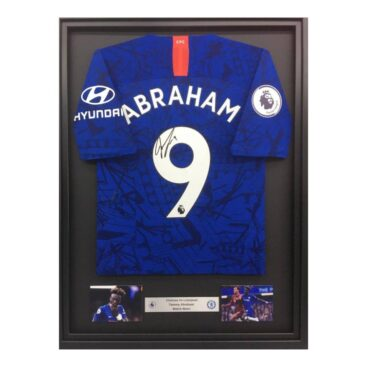 Abraham shirt framed