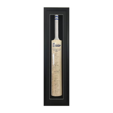 Cricket bat framed