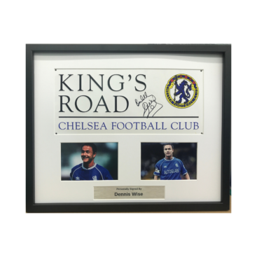 Chelsea sign framed