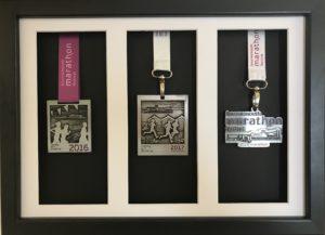 3 medal frame