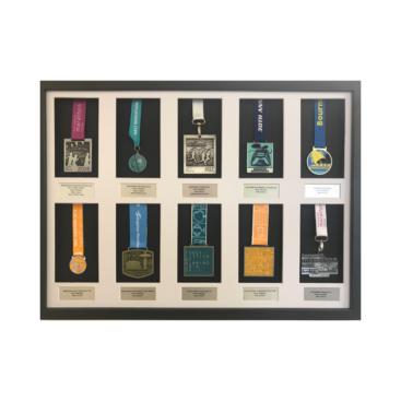 10 medal hanger