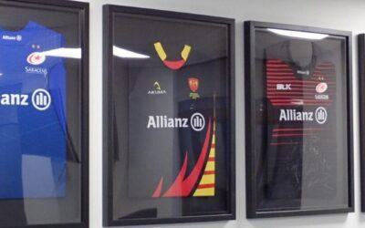 Rugby Shirt Framing: A Match Made in Heaven