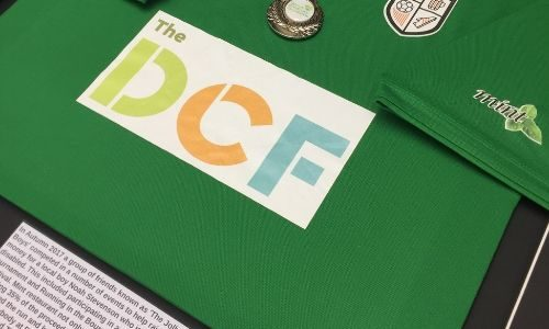 Dorset Children's Foundation or DCF are a Shirt Framing Service charity partner.