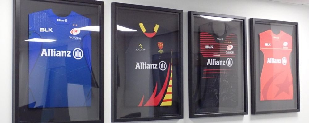 Rugby Shirt Framing | Shirt Framing Service