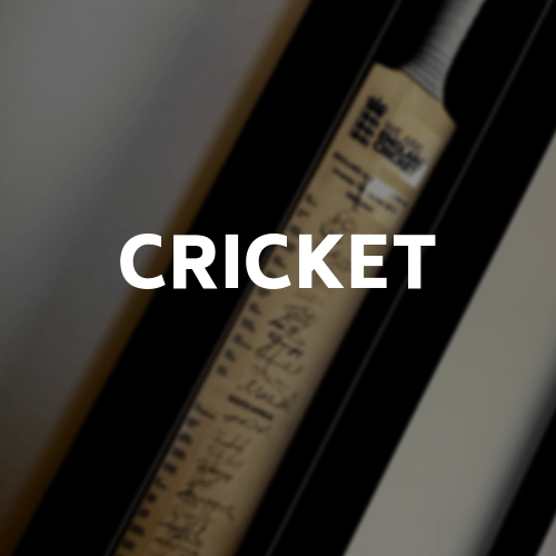 View our cricket memorabilia framing options by clicking on this image