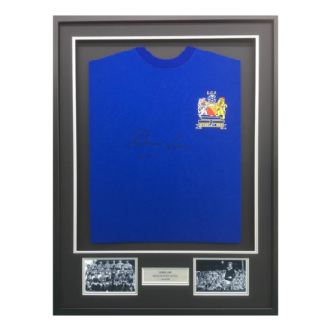 Chelsea shirt framed