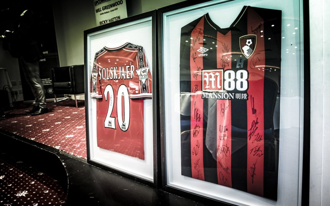 Framed shirts