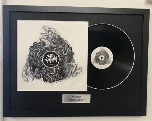 Vinyl frame