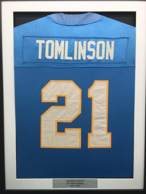 nfl shirt framing