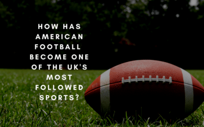 How has American Football become one of the UK's most followed sports?
