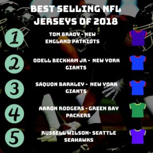 NFL jersey sales in UK