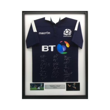 Framed Scotland Rugby Shirt