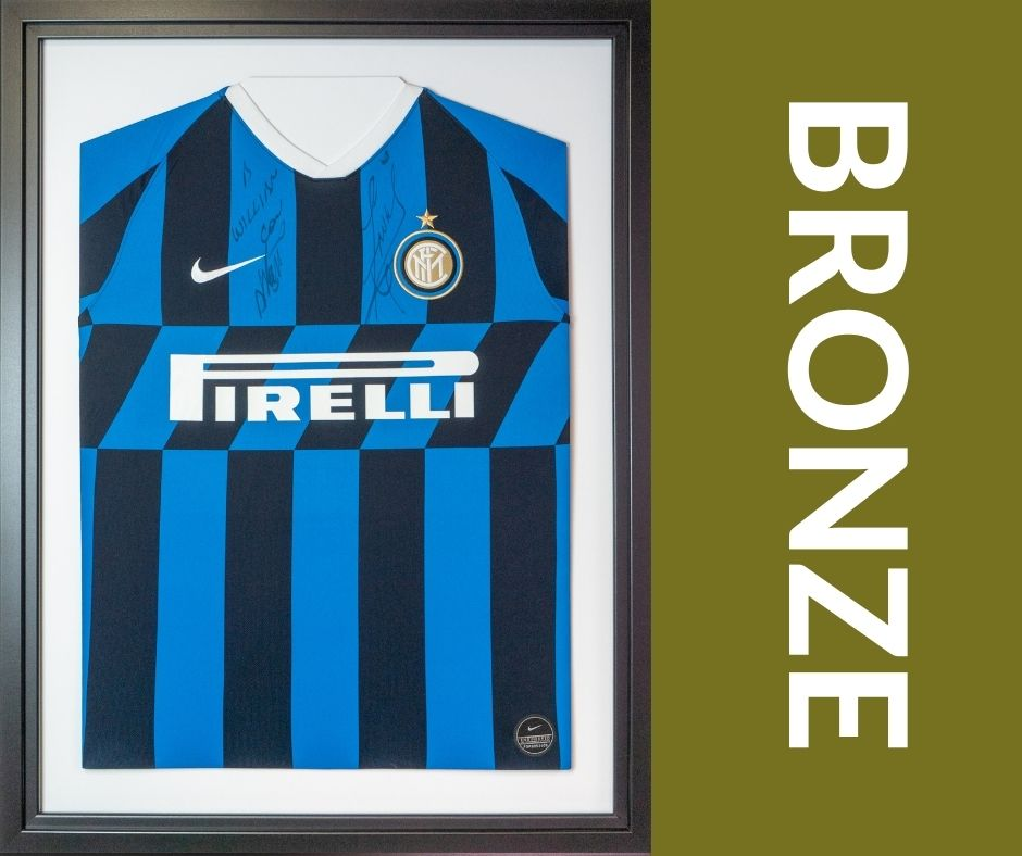 Bronze Shirt Framing Service