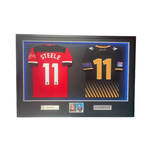 Double framed shirts with LED lights