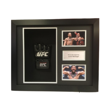 UFC Mixed Martial Arts Glove Framing Service