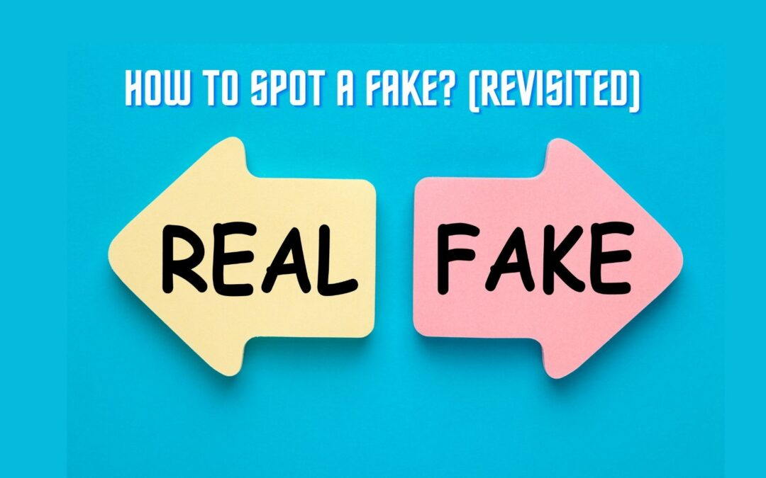 How to a spot fake signature? – Revisited